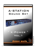 "A-Station Synthesizer ""X-POWER"" VOL.1 SOUND PACK"