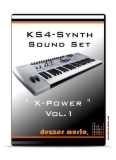 "KS4 Synthesizer ""X-POWER"" VOL.1 SOUND PACK"