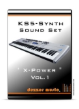 "KS5 Synthesizer ""X-POWER"" VOL.1 SOUND PACK"