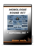 "Monologue ""ADRENALINE"" SOUND INSTRUMENT SET"