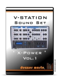 "V-Station Powercore    ""X-POWER"" VOL.1 SOUND SET"