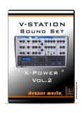 "V-Station ""X-POWER"" VOL.2 SOUND PATCHES"