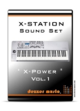 "X-Station Synthesizer ""X-POWER"" VOL.1 SOUND PACK"