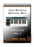 "Xio Synthesizer ""X-POWER"" VOL.1 SOUND PACK"